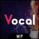 Vocal -  Voice Over Artists WordPress Theme - ThemeForest Item for Sale