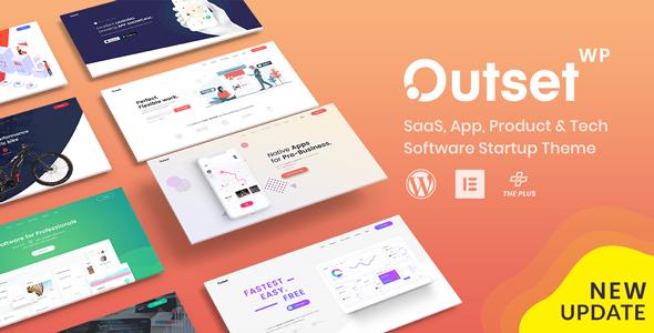 The Outset - MultiPurpose WordPress Theme for Saas & Startup