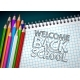 Back to School Design with Colorful Pencils - GraphicRiver Item for Sale