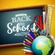 Back to School Design with Globe - GraphicRiver Item for Sale