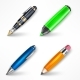 Pens and Pencil Set - GraphicRiver Item for Sale