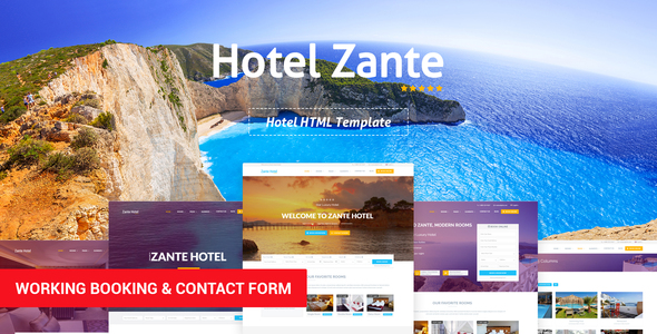 Review: Zante - Hotel Template free download Review: Zante - Hotel Template nulled Review: Zante - Hotel Template