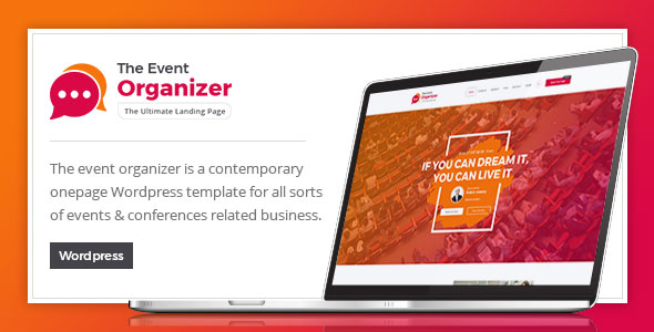 Event Organizer - WordPress Theme for Conferences