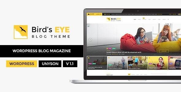 Birds Eye - Blog and News WordPress Theme