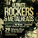 Rockers and Metalheads Flyer - GraphicRiver Item for Sale