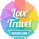 Love Travel - Webflow - ThemeForest Item for Sale