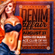 Denim Party Flyer - GraphicRiver Item for Sale