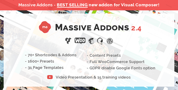 Massive Addons for WPBakery Page Builder - Wordpress plugins - Hire Wordpress Freelancers from FreelancerCV.com