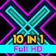 Retro Neon VJ Loops Pack - VideoHive Item for Sale