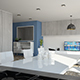 Living & Kitchen C4D - VRAY - 3DOcean Item for Sale