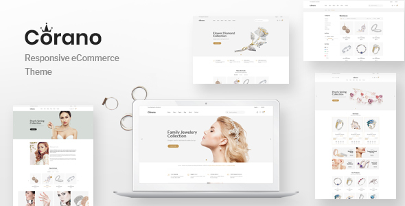 Corano - Jewellery Theme for WooCommerce WordPress