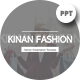 Kinan Fashion Presentation Template - GraphicRiver Item for Sale