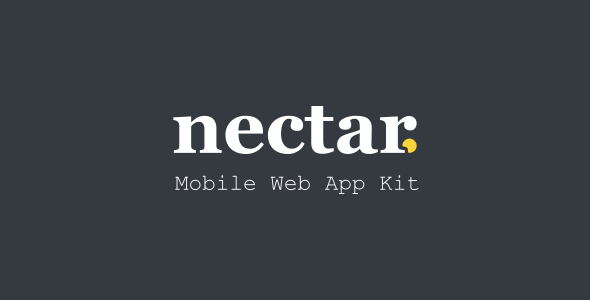 Nectar - Mobile Web App Kit