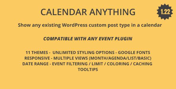 Full Calendar Plugins, Code & Scripts from CodeCanyon