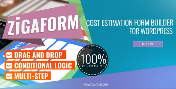 Zigaform - WordPress Calculator & Cost Estimation Form