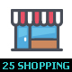 25 Shopping & Commerce Color Icon - GraphicRiver Item for Sale