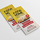Restaurant Menu Trifold Brochure - GraphicRiver Item for Sale