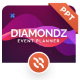 Diamondz Event Planner PowerPoint Template - GraphicRiver Item for Sale