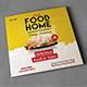 Square Food Menu Trifold Brochure - GraphicRiver Item for Sale