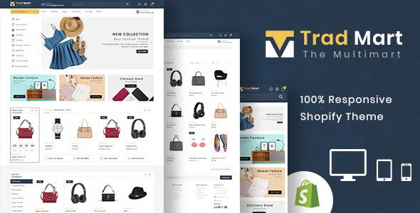 Tradmart - Shopify MultiPurpose Responsive Theme
