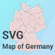 Map of Germany - CodeCanyon Item for Sale