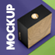 Box Mockup for Packaging Showcase with 4 views - GraphicRiver Item for Sale