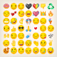 Collection of Yellow Face Emoticons and Emoji Icons Part 3 - GraphicRiver Item for Sale