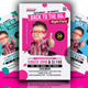 Retro Theme Party Flyer - GraphicRiver Item for Sale