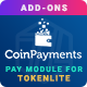 CoinPayments Pay Module for TokenLite - Online Crypto Payment Addon - CodeCanyon Item for Sale