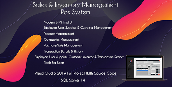 Shop POS - Sales and Inventory Management (POS System)