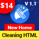 Cleanix - Cleaning Services HTML Template - ThemeForest Item for Sale