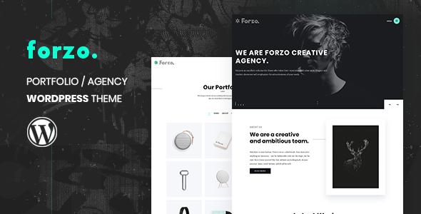Forzo - Creative Portfolio Agency Theme