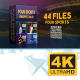 Four Sports Graphics Pack - VideoHive Item for Sale