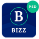 Bizz - Business Consulting and Agency PSD Template - ThemeForest Item for Sale