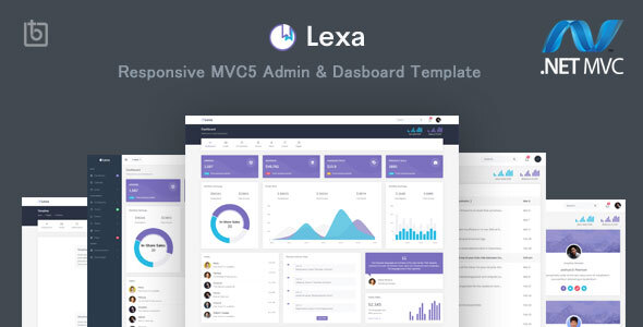 Lexa - MVC5 Admin & Dashboard Template