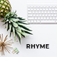 Rhyme - Creative Google Slides Template - GraphicRiver Item for Sale