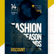 Fashion New Season Flyer Template - GraphicRiver Item for Sale