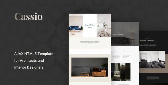 Cassio – Creative AJAX Portfolio HTML5 Template for Architects