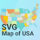 Map of USA - CodeCanyon Item for Sale
