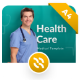 Healthcare Portrait Medical PowerPoint Template - GraphicRiver Item for Sale