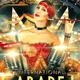 Cabaret Show Burlesque Flyer - GraphicRiver Item for Sale