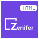 Zenifer - Creative and Multipurpose Responsive HTML5 Template - ThemeForest Item for Sale