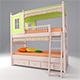 childrens_bed_49 - 3DOcean Item for Sale