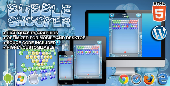 Bubble Shooter - Gry HTML5
