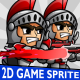 Red Spartan 2D Game Character Sprite - GraphicRiver Item for Sale
