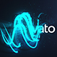 Magic Lights Logo Reveal - VideoHive Item for Sale