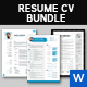 Resume Bundle - GraphicRiver Item for Sale