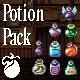 Potion Pack - Pixel Art Sprites - GraphicRiver Item for Sale