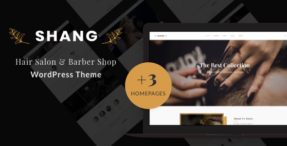 WordPress themes for Barber Shops