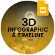 3D Infographic & Timeline Google Slides Template - GraphicRiver Item for Sale